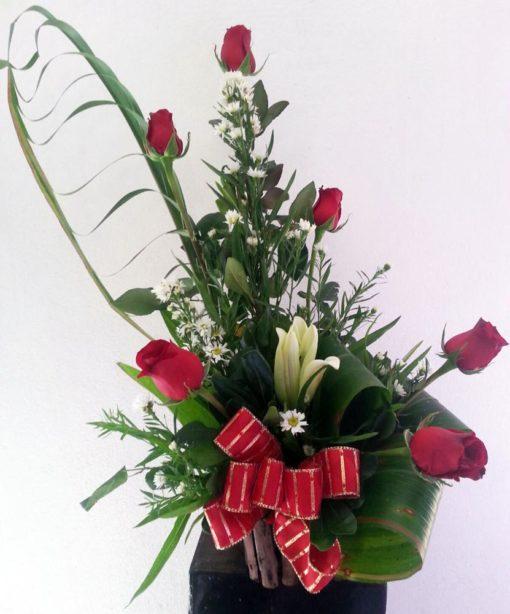 6 Rosas Estilizadas - Flores, Florería, Floristería