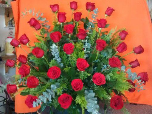 36 Rosas - Flores, Florería, Floristería