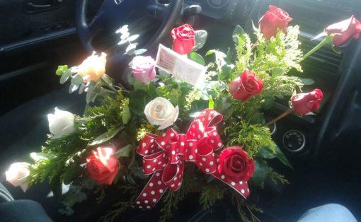 12 Rosas de Colores - Flores, Florería, Floristería