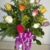 Docena de Rosas de Colores - Flores, Florería, Floristería