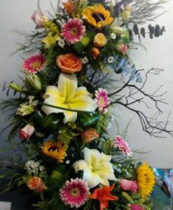 Primaveral de 3 niveles - Flores, Florería, Floristería
