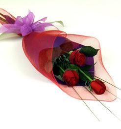Bouquet de 3 Rosas - Flores, Florería, Floristería