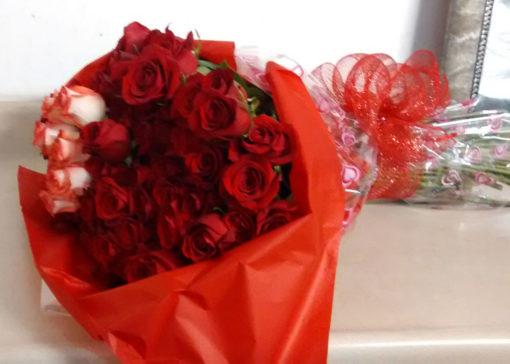Bouquet con 60 Rosas - Flores, Florería, Floristería
