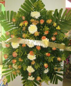 Corona Naranja - Flores, Florería, Floristería