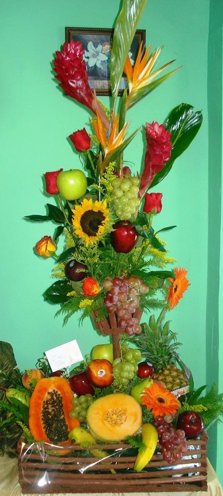Arreglo Frutal - Flores, Florería, Floristería