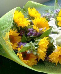 Bouquet con 10 Girasoles - Flores, Florería, Floristería