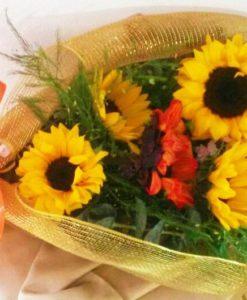 Bouquet con 6 Girasoles - Flores, Florería, Floristería