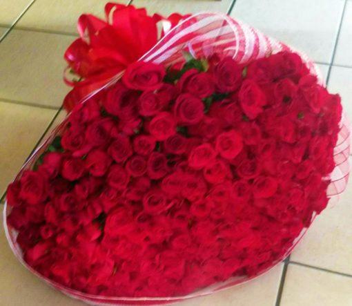 Bouquet con 200 Rosas - Flores, Florería, Floristería