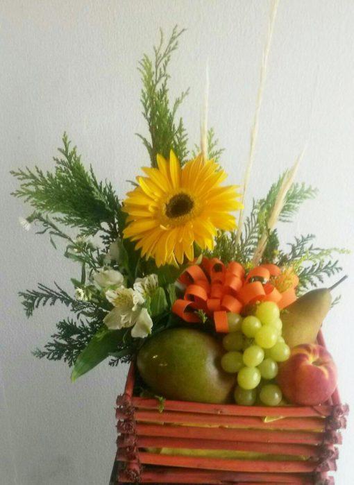 Arreglo Frutal Chico - Flores, Florería, Floristería