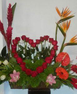 Arreglo Exótico - Flores, Florería, Floristería