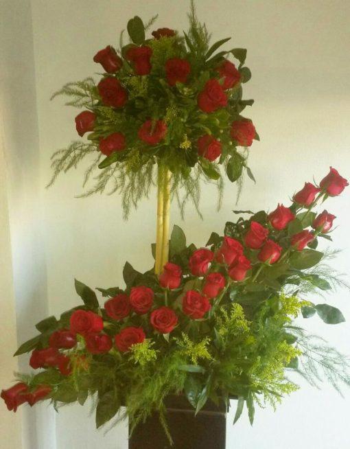 Arreglo con 36 Rosas - Flores, Florería, Floristería