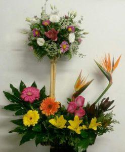 Primaveral de Dos Niveles - Flores, Florería, Floristería