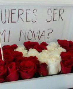 Caja con 36 Rosas - Flores, Florería, Floristería