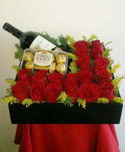 Arreglo de Rosas para Caballero - Flores, Florería, Floristería