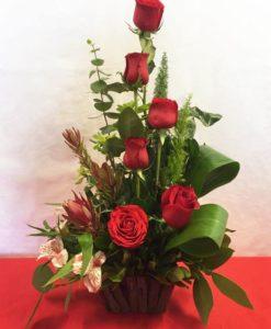 6 Rosas - Flores, Florería, Floristería