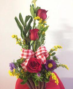 Detalle de 3 Rosas - Flores, Florería, Floristería